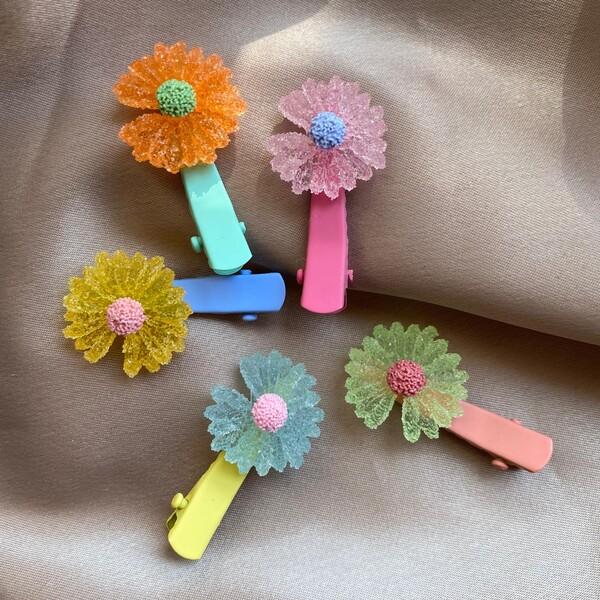 Fi Season - Çiçek Figürlü Toka 2