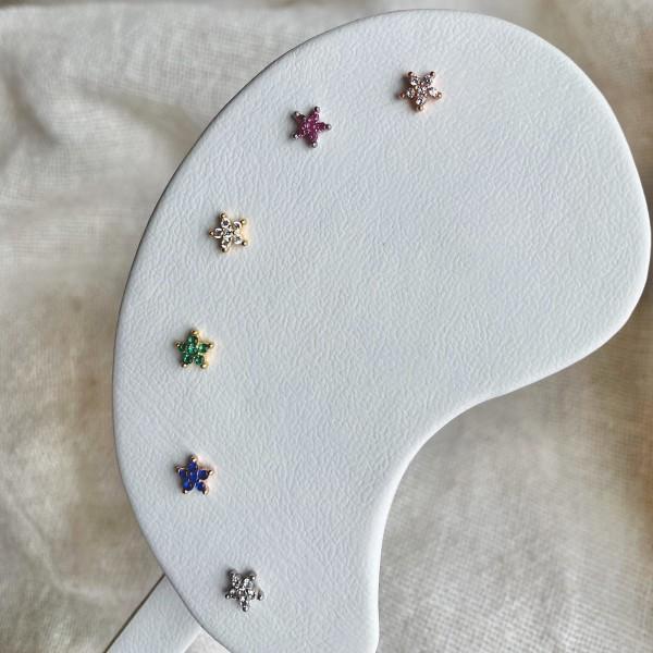 - Çiçek Piercing | 925 Gümüş