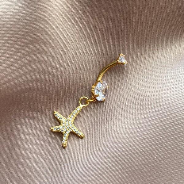 Fi Season - Deniz Yıldızı Figürlü Göbek Piercingi