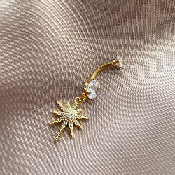 Fi Season - Deniz Yıldızı Figürlü Göbek Piercing 3