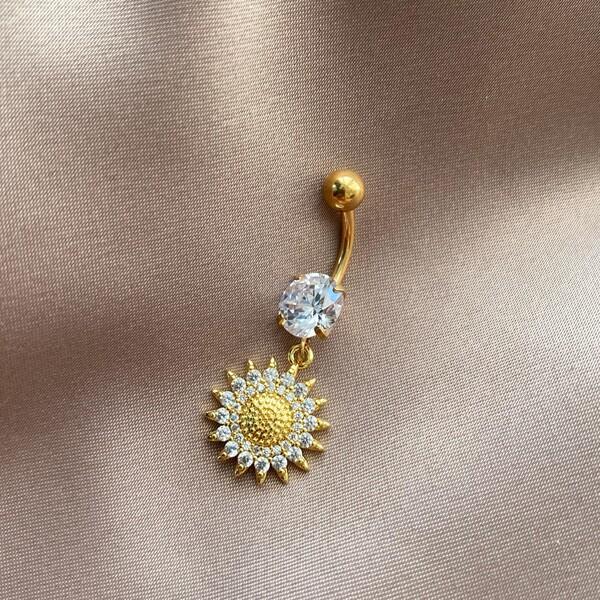 Fi Season - Güneş Figürlü Göbek Piercingi