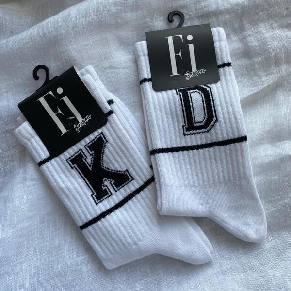- Harfli İkili Çorap Seti