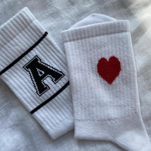 Fi Season - Harfli Kalpli İkili Çorap Seti