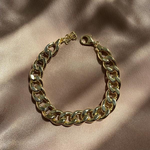 - 1.1 Kalın Zincir Halhal | 925 Gümüş