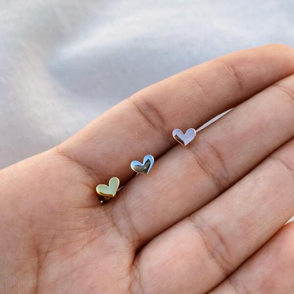 Fi Season - Kalp Figürlü Piercing | 925 Gümüş