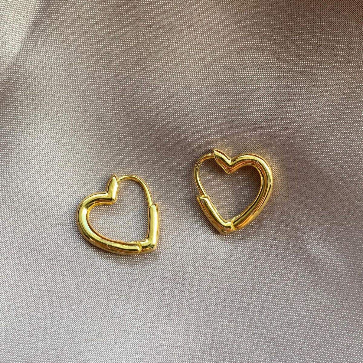 Kalp Küpe | 925 Gümüş