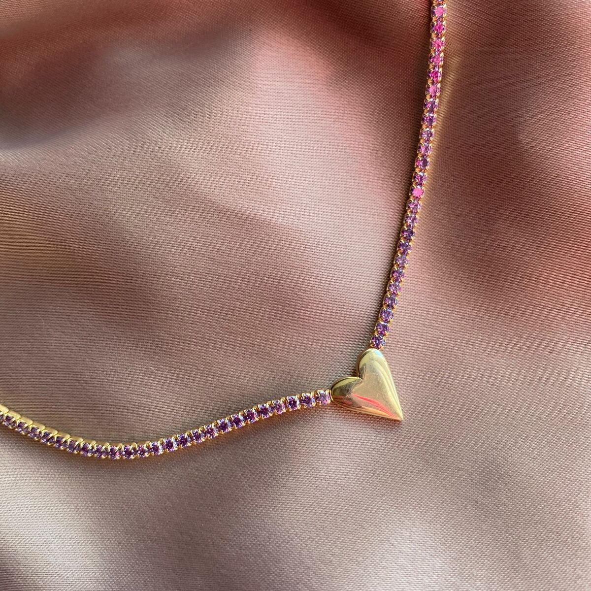 Kalpli Su Yolu Choker | 925 Gümüş