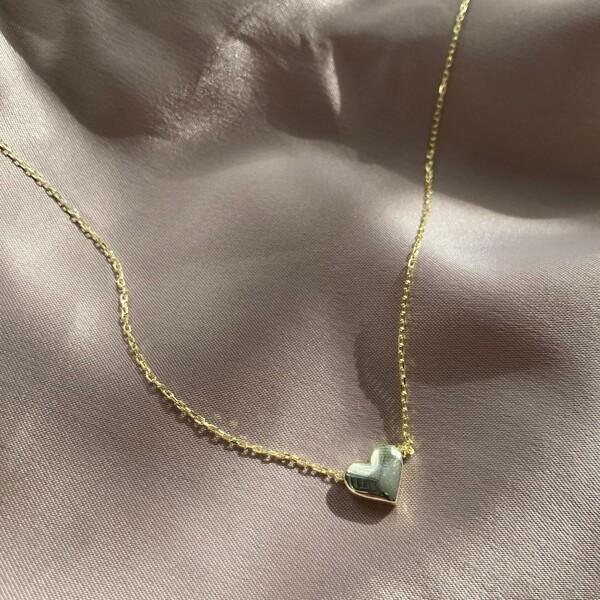 - Küçük Kalp Kolye | 925 Gümüş