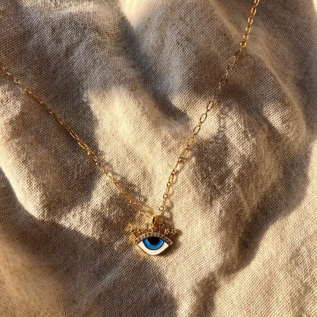 Mavi Göz Kolye