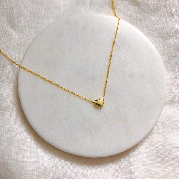 - Minik Kalp Kolye | 925 Gümüş