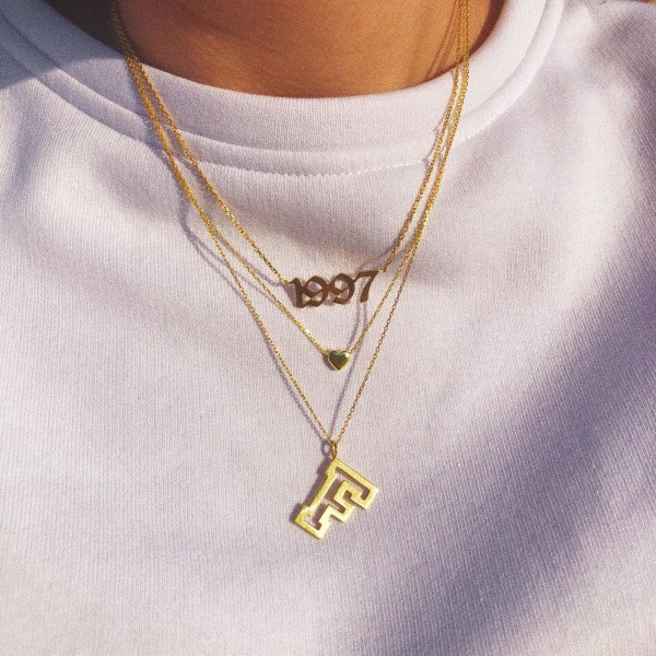 Minik Kalp Kolye | 925 Gümüş - Thumbnail