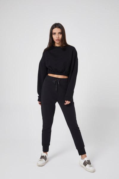 Fi Season - Siyah Sweatshirt