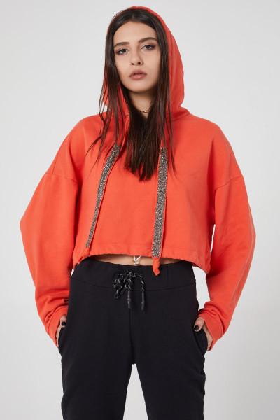 - Turuncu Sweatshirt
