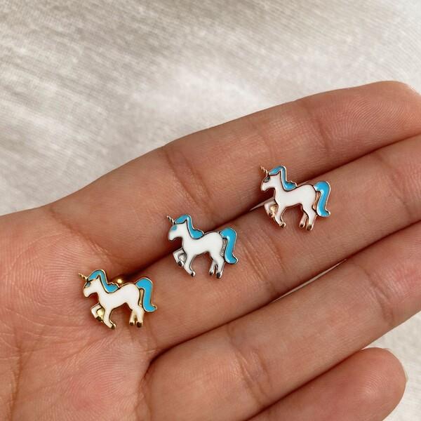 Fi Season - Unicorn Figürlü Piercing | 925 Gümüş