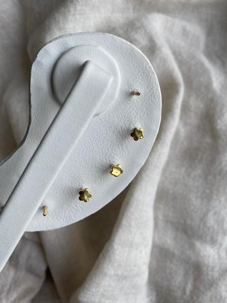 Yılan Figürlü Piercing | 925 Gümüş - Thumbnail